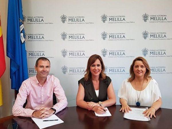 Los celíacos de Melilla reciben una ayuda de diez mil euros del Gobierno Autónomo