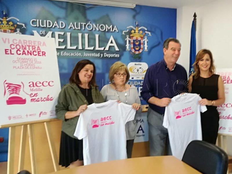 La VI Carrera contra el Cáncer anima a las mujeres a hacerse mamografías