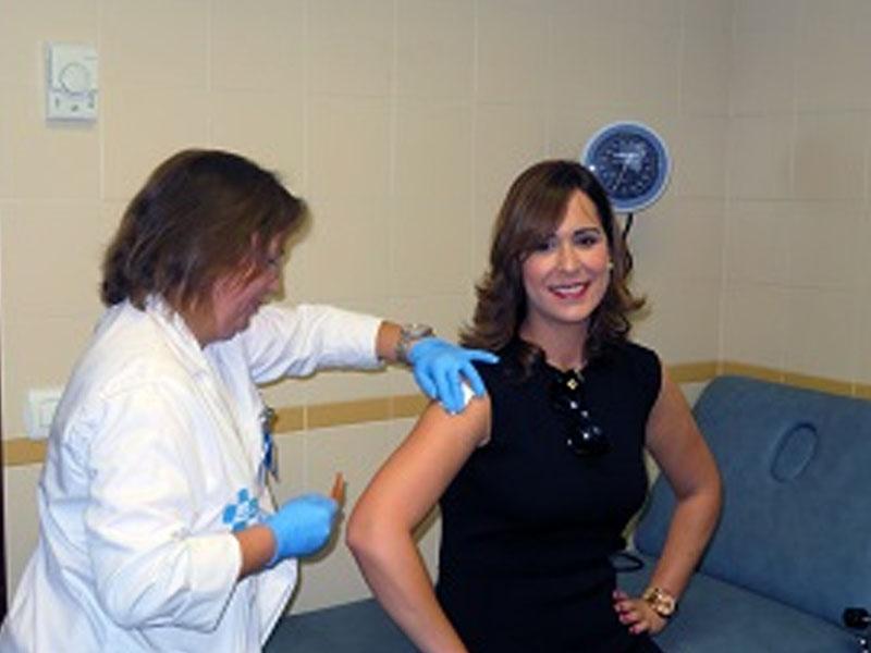 La vacuna contra la gripe protege tanto al vacunado como a su entorno