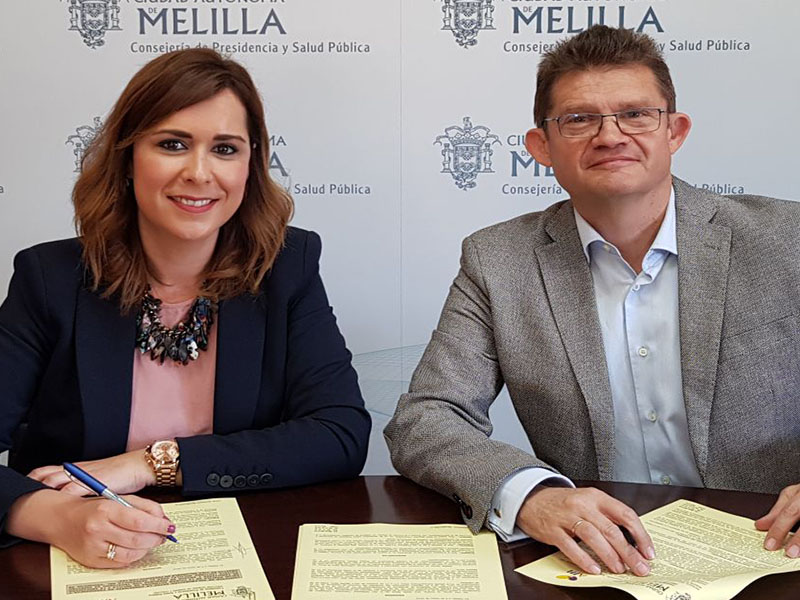acuerdo colaboración presidencia melilla