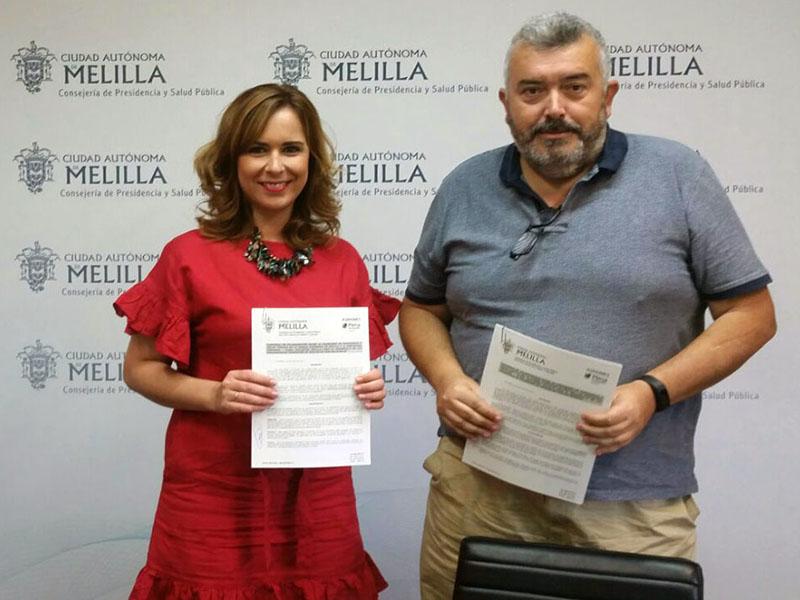 convenio aspanies paz Velázquez Melilla
