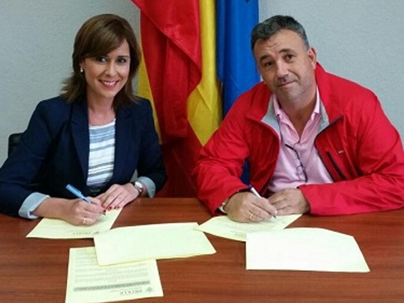 renovación convenio colegio de veterinarios Melilla