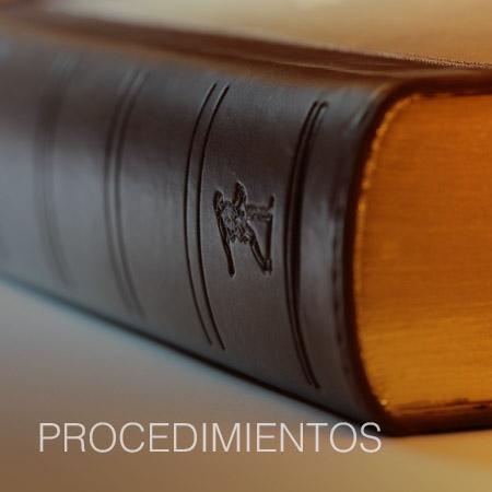 DROGAS PROCEDIMIENTOS MELILLA